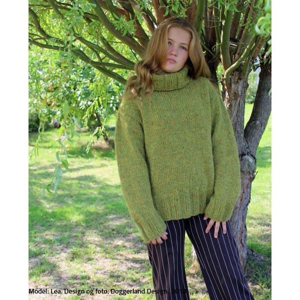 SORCHA - Rullekravesweater i blød islandsk uldgarn