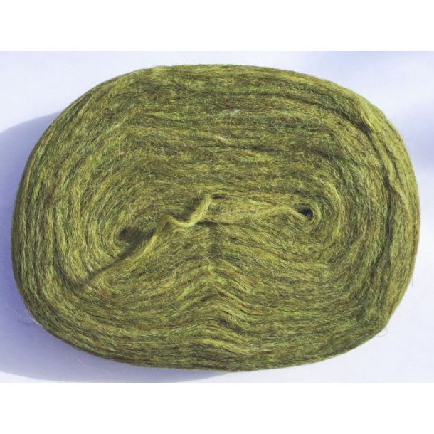 Istex pladegarn - Lys armygrøn (100g)