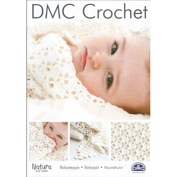 DMC løsopskrift: hæklet babytæppe -25% RABAT
